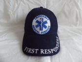 EMERGENCY MEDICAL SERVICES ( EMS ) FIRST RESPONDERS EMBROIDERED BASEBALL CAP